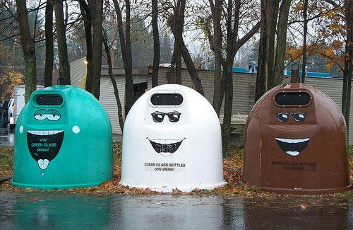 Contenedores de reciclaje de todo el mundo
