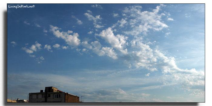 panorámica cielo