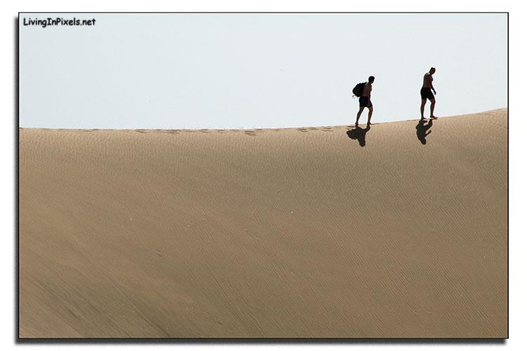 Paseando entre dunas