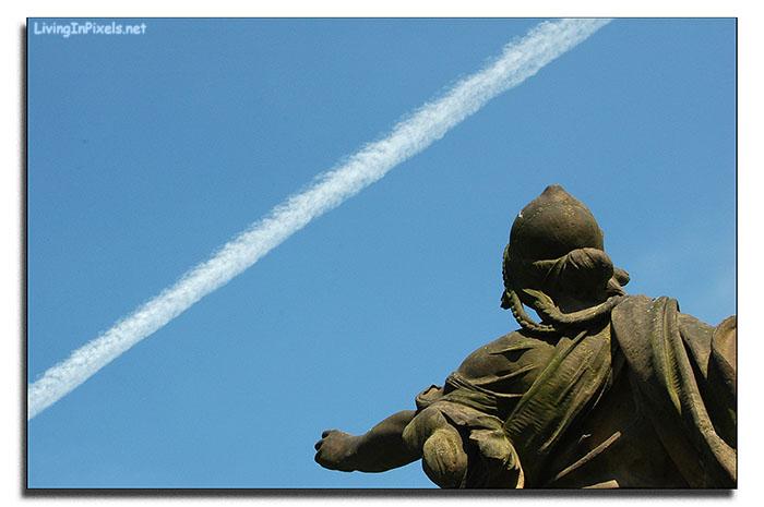 Cruzando el cielo