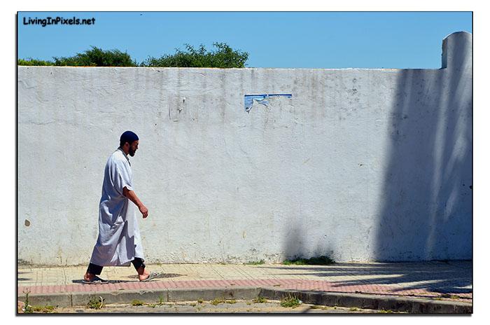Camino a la mezquita